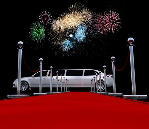 Limousine mieten und sich am roten Teppich wie ein Star fühlen