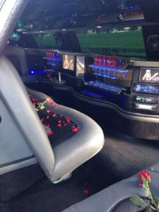 Valentingstag Limousine